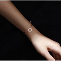 DearMe - LILY Bracelet (925 Sterling Silver, Gold Plating & Crystals)