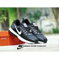 Sale Sepatu Sport Sepatu Nike Airmax Zoom Cushlon GRADE ORI Hitam