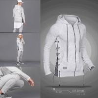 jaket onstreet ropline jumper original Grey / jumper hoodie