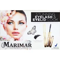 (1 LUSIN) MARIMAR Mascara&Eyeliner 2in1 Case GOLD