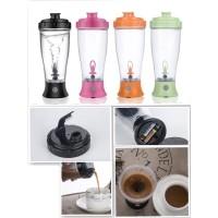 Botol Aduk Otomatis Skinny Moo Mixer 350ml /Self Stirring Mug (H-23)