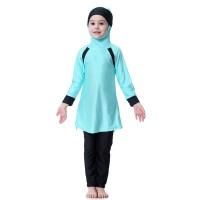 Baju Renang Muslim Anak Perempuan Baju Renang Hijab Untuk Anak-Anak