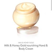 Milk & honey gold nourishing hand & body cream #31602