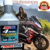 Amsoil synthetic scooter oil
