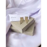 DearMe - ZARA Earrings (14K gold plating & Crystals)
