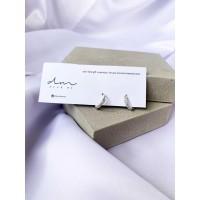 DearMe - ERIN Earrings (925 Sterling Silver & Zirconium Crystals)