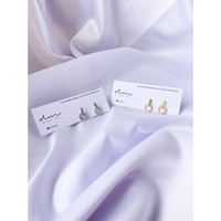 DearMe - THEA Earrings (S925 with 18K gold plating & Crystals)