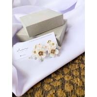 DearMe - MILLIE Earrings (14K gold plating & Crystals)