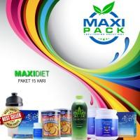 Paket Diet Herbal 15 Hari Turun 7-9 kg HALAL BPOM MAXI DIET