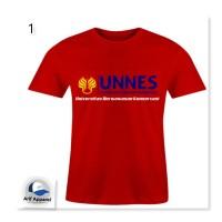 Kaos UNNES - Kaos Pria (RedMango)