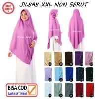 Jilbab instan NON SERUT Size XXL Pad Antem Bahan Kaos PE murah XXL-03