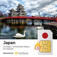 PROMO Sim Card Jepang 10 Hari Unlimited | Japan