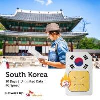 PROMO Sim Card Korea 10 Hari Unlimited | South Korea