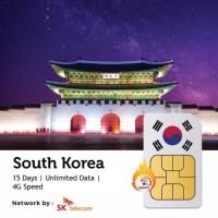 PROMO Sim Card Korea 15 Hari Unlimited | South Korea