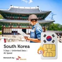 PROMO Sim Card Korea 5 Hari Unlimited | South Korea