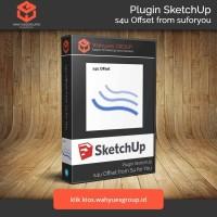 s4u Offset Plugin SketchUp Original License dan Support