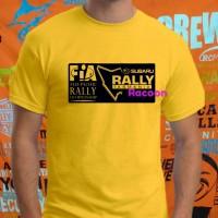 Kaos/baju/tshirt RALLY FIA SUBARU