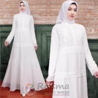 Gamis Putih/Gamis Umroh/Gamis Cantik/Gamis Polos