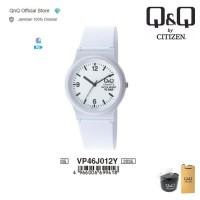 Q&Q QnQ QQ Original Jam Tangan Wanita Analog - VP46 VP46J Water Resist