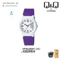 Q&Q QnQ QQ Original Jam Tangan Wanita Analog Jelly - VP46 VP46J