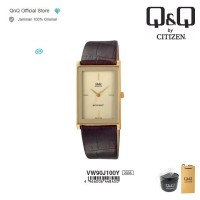 Q&Q QnQ QQ Original Jam Tangan Wanita Analog - VW90 VW90J Leather