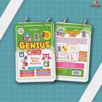 Genius Card Membaca, Menulis, Menghitung