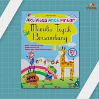 Buku Anak-Aktivitas Anak Pintar: Menulis Tegak Bersambung (Usia TK&SD)