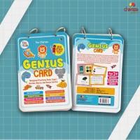 Genius Card :Mengenal Binatang Buah,Sayur Bentuk Warna & Benda Sekitar
