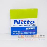 NITTO PVC INSULATION TAPE / ISOLASI LAKBAN LISTRIK