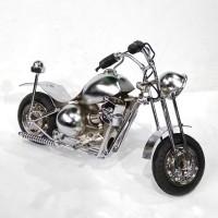Small - Miniatur Sepeda Motor Moge HD Harley Davidson Bobber Besi