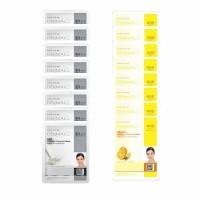 8 pcs Dermal Milk Sheet Mask + 8 pcs Dermal Vitamin Sheet Mask