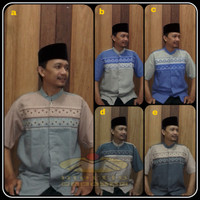 Baju Koko Dewasa Baju Muslim Taqwa Pria Grosir Eceran Murah M L XL