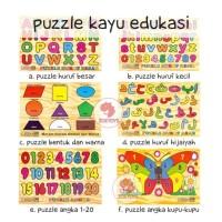 Zoetoys Puzzle Kayu Edukasi | mainan edukasi | mainan anak | edutoys