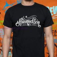 kaos/Baju/T-shirt/pakaian KATA KATA MUSLIM ISLAM HUSNUDZON TERLARIS