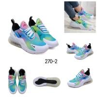 NIKE AIRMAX270 x KYLIE BOON CUSTOM WHITE SNEAKER Sepatu Wanita 270-2 W