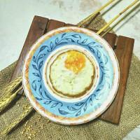 telur mata sapi / telur dadar ( tambahan topping ketomaksi )