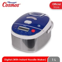 Cosmos CRJ-3801 D - Digital Rice Cooker 1 L