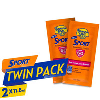 Banana Boat Sunblock - Travel Twin Pack Sport SPF50 2x11.8ml