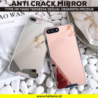 Anticrack Case HP Mirror Kaca iPhone 5 5S SE 5C 6 6S 6+ 6S+ 7 8 7+ 8+