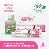 Paket Pasta Gigi & Mouthwash khusus ibu hamil & menyusui Mamas Choice