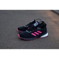 Sepatu Murah Sneakers Original Adidas Boost Astrarun Black Pink