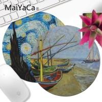 Mousepad Lockedge MaiYaCa Vincent van Gogh Lukisan Kecepatan Tinggi