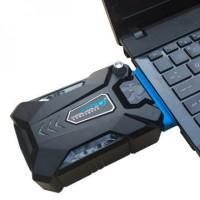 ICE FAN 3 Pendingin Kipas Fan Laptop Notebook USB Vacuum Vacum Cooler