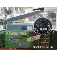 POWERPACK Sealer Plastik 20cm Hand Packaging Mesin Pengemas PCS-200I
