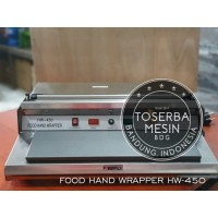Hand Wrapping Plastik Mesin Pembungkus Makanan HW 450