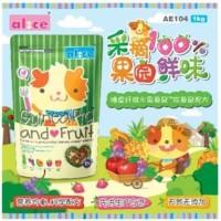 AE104 Alice Guinea Pig and Fruit 1kg Makanan dan Buah Marmut