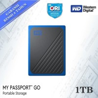 WD My Passport Go 1TB Cobalt SSD Portable - Portable Eksternal SSD