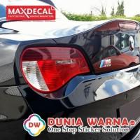 MAX DECAL PREMIUM VINYL CAR WRAP BLACK GLOSS 152 cm METERAN STICKER