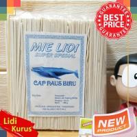 Mie Lidi Mentah 14 cm Cap Paus Biru