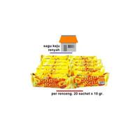 Happy Time - Sagu Keju - Kemasan Renceng - 20x10gr